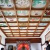 城宝寺 天井画