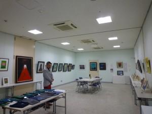 東日本大震災チャリティ 絵画展